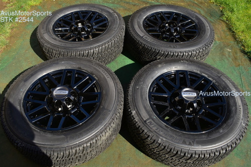 "20"" Ford F350 Super Duty Lariat OEM Factory Sport Package Black Wheels F250 2021"