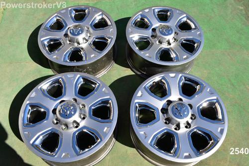 "20"" Dodge Ram 2500 3500 OEM Factory Laramie Wheels 2013 2014 2015"