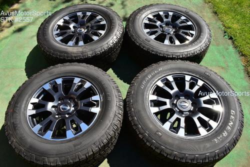 "2020 Nissan Titan XD 18"" OEM Factory WHEELS PRO 4X tires LT275/65R18"