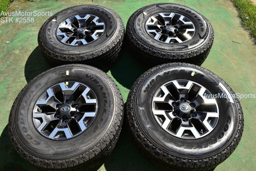 "16"" TOYOTA TACOMA OEM FACTORY TRD OFFROAD WHEELS Tires 4runner Tundra 2021 TPMS"
