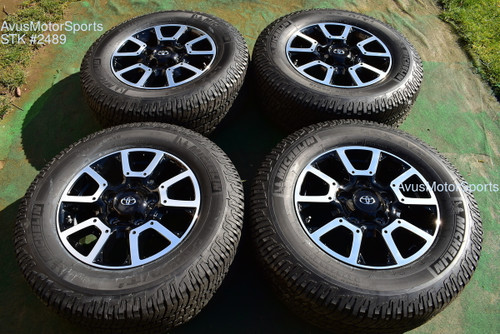 """18"""" Toyota Tundra Off Road OEM Factory Wheels Tires TRD offroad Sequoia + TPMS oem2489"""