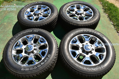"""20"""" Dodge Ram Limited Edition OEM Factory Wheels Tires 2500 3500 2017 2018"""