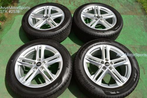 "19"" Audi Q5 Factory OEM Wheels & 235/55r19 Tires 2021"