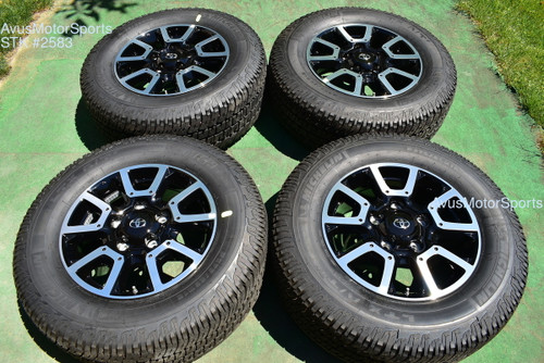 """18"""" Toyota Tundra Off Road OEM Factory Wheels Tires TRD offroad Sequoia + TPMS oem2583"""