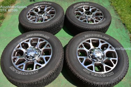 "20"" Ford F350 Super Duty King Ranch OEM Factory Polished Wheels F250 2020 2021"