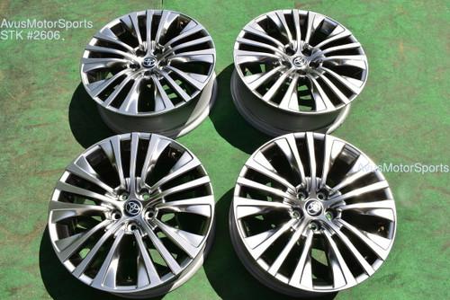 "19"" Toyota Venza Limited OEM Factory Wheels 2021 Rav4 Highlander"