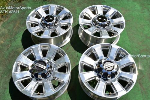 "20"" Ford F250 Super Duty Platinum OEM Factory Wheels F350 2019 2020 2021"