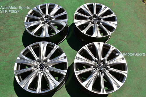 "2021 Mazda CX-9 Signature GT OEM 20""  Factory Genuine Wheels"