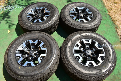"""16"""" TOYOTA TACOMA OEM FACTORY TRD OFFROAD WHEELS Tires 4runner Tundra 2021"""
