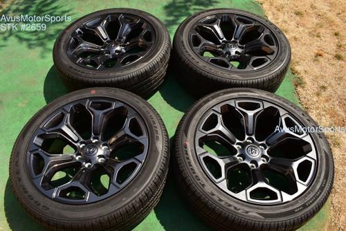 "22"" Dodge Ram Limited OEM Factory Optional Wheels 1500 Genuine 2021"