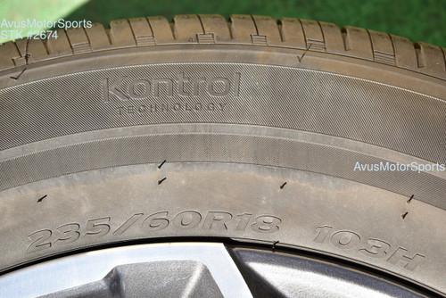 "18"" Honda CR-V EX EX-L OEM Factory Wheels 235/60R18 Tires 2020 2021 CRV AWD"