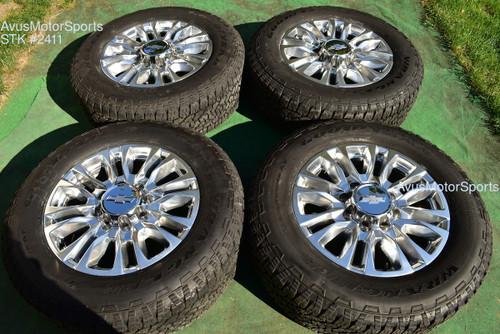 "20"" Chevy Silverado 3500 2500 OEM High Country FACTORY WHEELS GMC Sierra 2020"