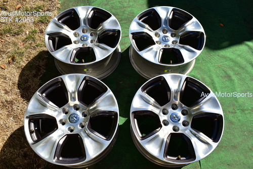 "20"" Dodge Ram Laramie OEM Factory Polished Wheels 1500 Genuine 2019  oem2053"
