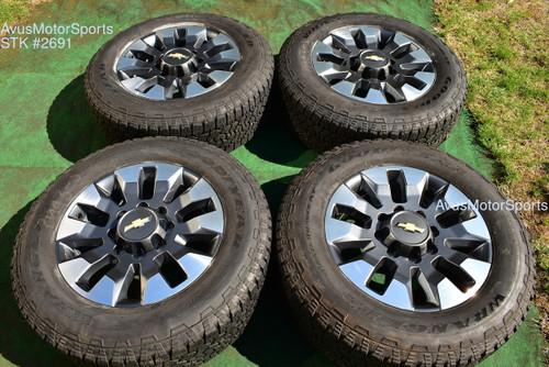 "20"" Chevy Silverado 2500 3500 HD OEM LT FACTORY WHEELS GMC Sierra 2021 gray oem2691"