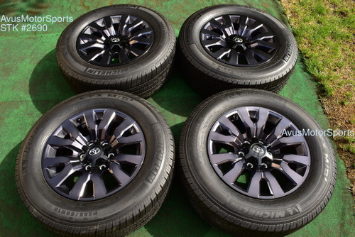 """18"""" TOYOTA TACOMA OEM FACTORY Limited Nightshade WHEELS Tires 4runner Tundra"""