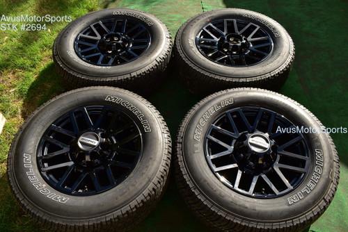 "20"" Ford F350 Super Duty Lariat OEM Factory Sport Package Black Wheels F250 2021 oem2694"