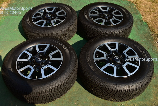 """18"""" Toyota Tundra Off Road OEM Factory Wheels Tires TRD offroad Sequoia TPMS"""