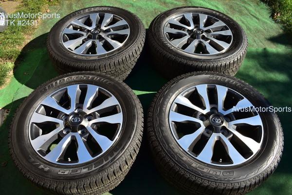 "20"" Toyota Tundra Limited OEM Wheels Tires Sequoia Land Cruiser Lx570 2020 TPMS oem2431"