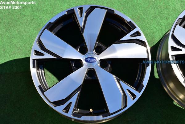 "18"" Subaru Forester Touring OEM Factory Wheels 2019 Genuine part# 28111SJ070"