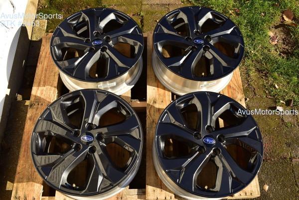 """2020 Subaru Outback Onyx Edition XT OEM 18"""" Factory Wheels Legacy 5x114 2021"""