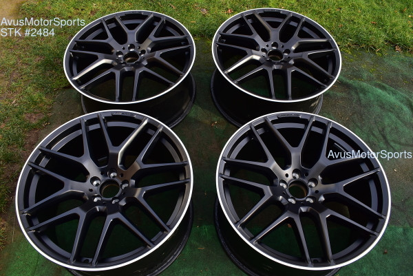 "22"" Mercedes BENZ GLE63 AMG Factory OEM Staggered Wheels GLE43 GLE550"