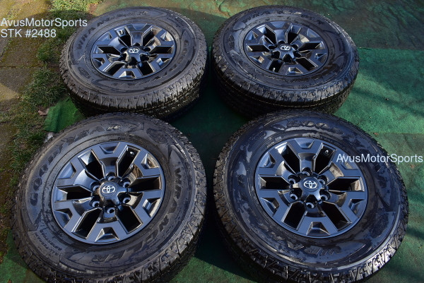 "16"" TOYOTA TACOMA OEM FACTORY Trail Edition WHEELS Tires 4runner Tundra 2021 TPMS"