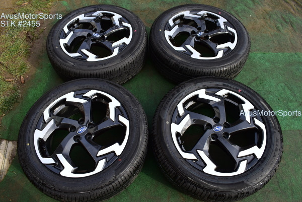 "Copy of 2021 Subaru XV Crosstrek OEM 18"" Factory Wheels 5x100 Impreza Forester Outback"