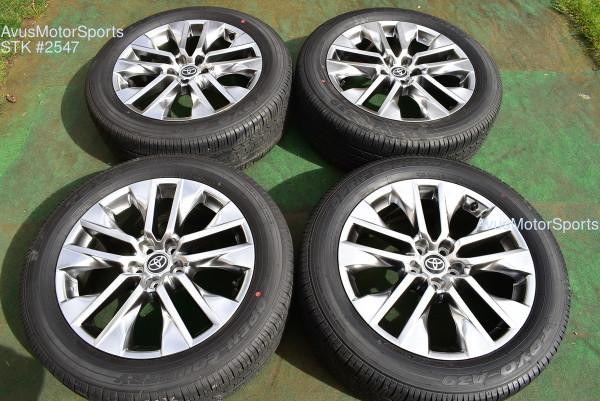 "19"" Toyota Rav4 Limited OEM Factory Wheels Tires 235/55r19 2021"