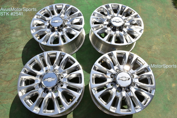 "20"" Chevy Silverado 2500 3500 OEM High Country FACTORY WHEELS GMC Sierra 2020 oem2541"
