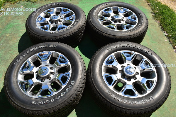 "20"" Dodge Ram Limited Edition OEM Factory Wheels Tires 2500 3500 2017 2018"