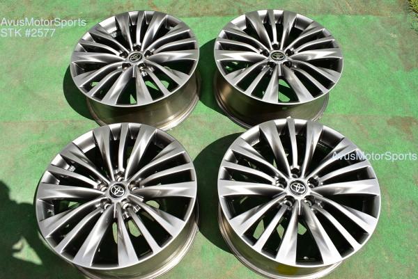 "20"" Toyota Highlander Limited OEM Factory Hybrid Platinum Wheels 4261A0E140 2021"