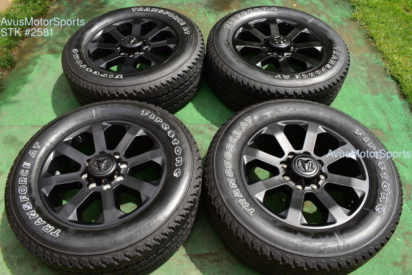 "20"" Dodge Ram Night Edition OEM Factory Black Wheels Tires 2500 3500 2021 2020 oem2581"