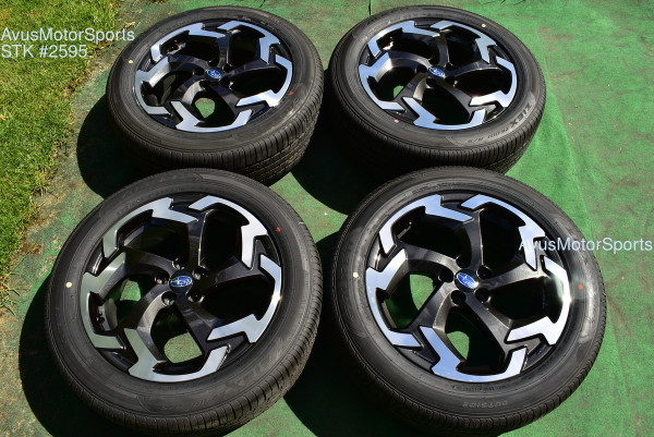 "2021 Subaru XV Crosstrek OEM 18"" Factory Wheels 5x100 Impreza Forester Outback  oem2595"