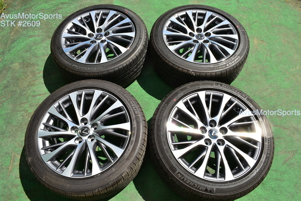 "18"" Lexus ES350 OEM Factory Wheels ES250 ES300H Toyota Avalon Camry"