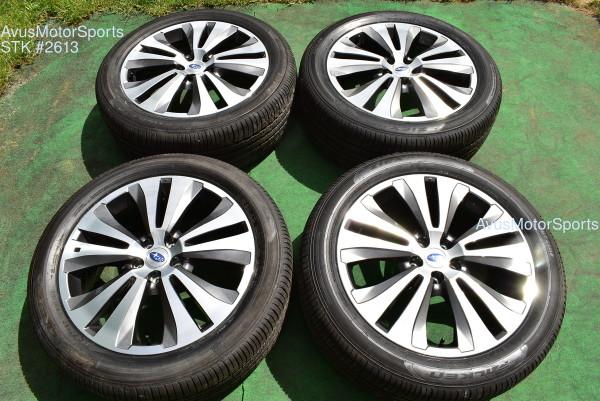 "20"" Subaru Ascent Limited OEM 20"" Factory Wheels Tires  5x114 2020 2019"