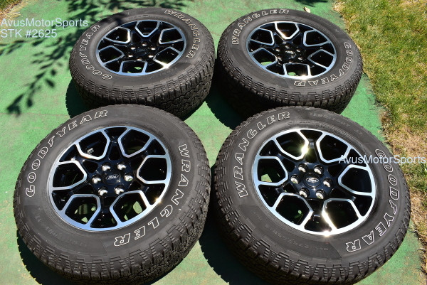 """18"""" Ford F150 OEM Factory Lariat Sport Wheels A/T Tires FX4 Expedition 2021"""