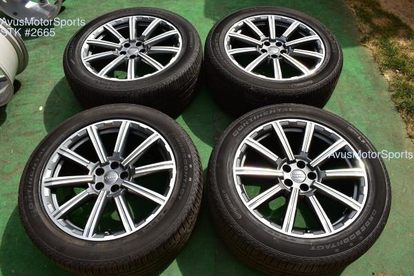 "20"" Audi Q7 S-Line BBS OEM Wheels 285/45R20 tires 2018 2019 Factory Genuine"