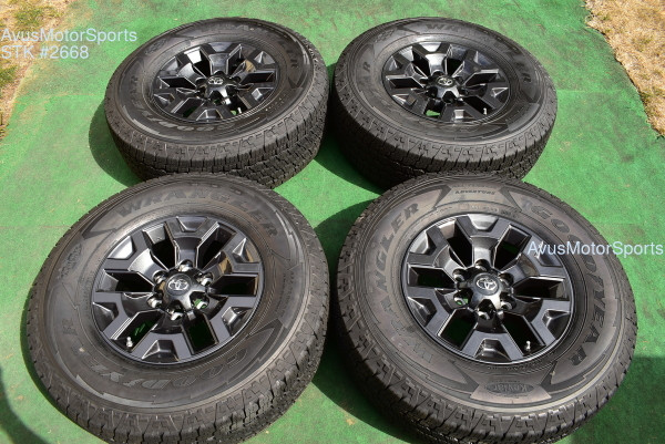 """16"""" TOYOTA TACOMA OEM FACTORY Trail Edition WHEELS Tire 4runner Tundra 2021 TPMS"""