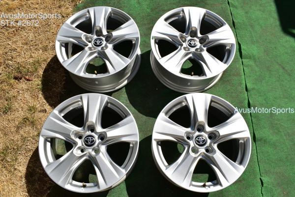 "17"" Toyota Rav4 OEM Factory Wheels 2021 2020"