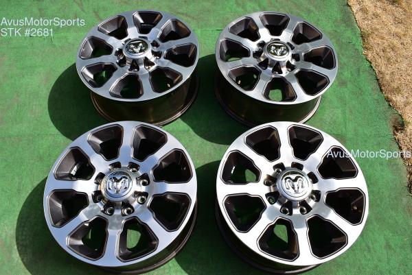"20"" Dodge Ram Long Horn Edition OEM Factory Wheels 2500 3500 2019 2020 oem2681"