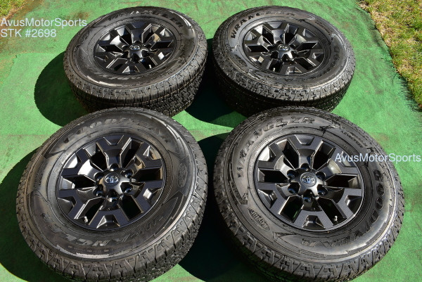"""16"""" TOYOTA TACOMA OEM FACTORY Trail Edition WHEELS Tire 4runner Tundra 2021 TPMS oem2698"""
