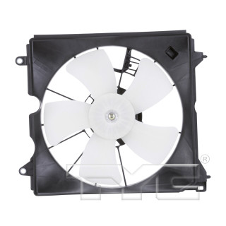 2013-2017 Honda Accord LX-S Coupe 2 Door Engine Cooling Fan Assembly 2.4L 4 Cylinder Left Driver Side