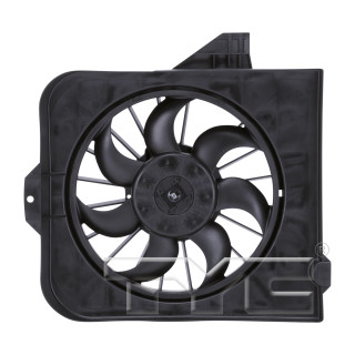 2001-2005 Chrysler Voyager Engine Cooling Fan Assembly Left Driver Side