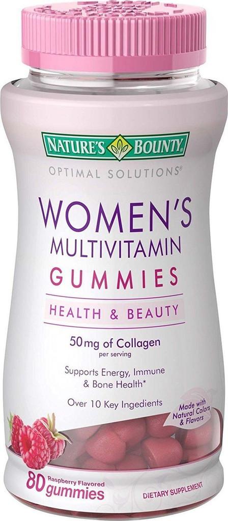 Nature's Bounty Optimal Solutions Women's Multivitamin, 80 Gummies