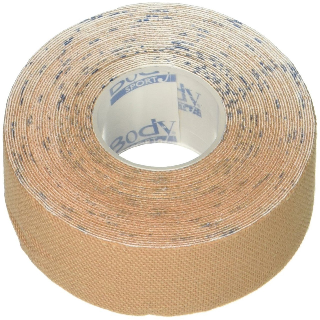 """Bodyport Physio tape 2"""" X 33.5 yds Natural Clinical roll"""