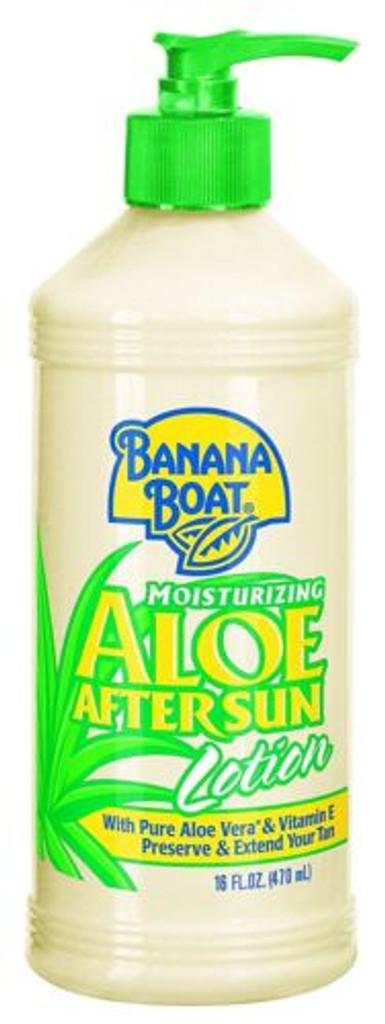 Banana Boat Aloe Vera Sun Burn Relief Sun Care After Sun Lotion 16 Ounce