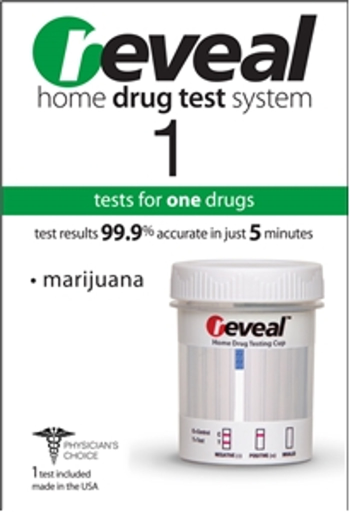 Reveal 1 Marijuana RT-THC At Home Drug Test Kits, 2 Test Included