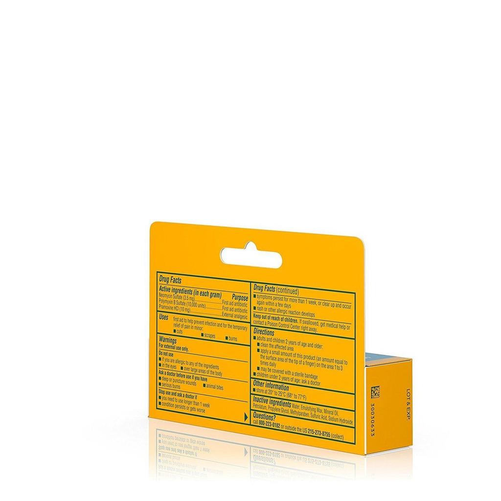 Neosporin + Pain Relief Dual Action Cream 0.5 Oz First Aid Antibiotic Cream