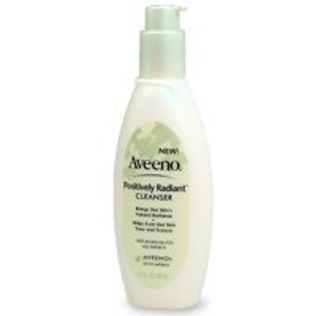Aveeno Positively Radiant Cleanser, with moisture-rich soy extracts - 6.7 OZ