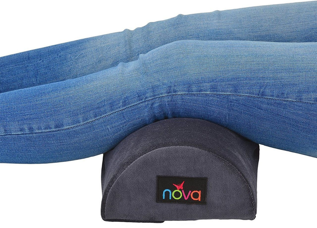 NOVA Medical Products Half Roll Memory Foam Pillow #2678-R